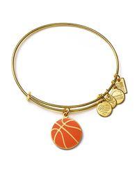 ALEX AND ANI - Metallic Team Usa Basketball Expandable Wire Bangle - Lyst