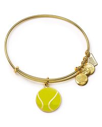 ALEX AND ANI - Metallic Team Usa Tennis Expandable Wire Bangle - Lyst