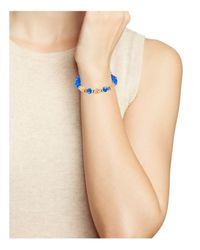 ALEX AND ANI | Blue Deep Sea Wrap Bracelet | Lyst