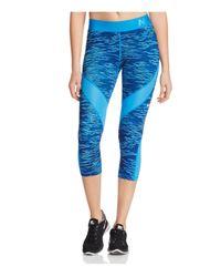 Nike - Blue Pro Hypercool Reflect Capri Leggings - Lyst