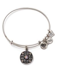 ALEX AND ANI | Metallic Wings Of Change Expandable Wire Bangle, Charity By Design Collection | Lyst