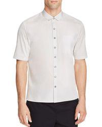 ATM - White Atm Cuban Slim Fit Button-down Shirt for Men - Lyst
