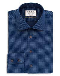 Thomas Pink | Blue Williams Dot Dress Shirt - Bloomingdale's Regular Fit - 100% Bloomingdale's Exclusive for Men | Lyst