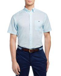 Vineyard Vines Blue Main Mast Tucker Classic Fit Button-down Shirt for men