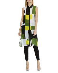 Vince Camuto - Green Geometric Print Tunic - Lyst