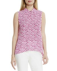 Vince Camuto - Multicolor Falling Cubes High/low Hem Top - Lyst