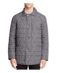 Marc New York | Gray Auburn Quilted Field Jacket for Men | Lyst
