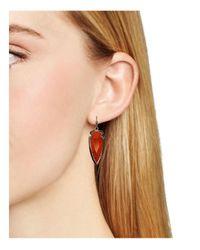Kendra Scott - Red Katelyn Drop Earrings - Lyst