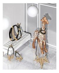 Alexis Bittar - Metallic Crystal Encrusted Id Bracelet - Lyst