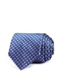BOSS - Blue Diamond Neat Classic Tie for Men - Lyst