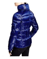 Sam.   Blue Racer Quilted Down Jacket   Lyst