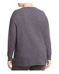 Marina Rinaldi - Blue Alassio Color Block Sweater - Lyst