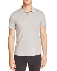 Theory | Gray Sandhurst Current Pique Relaxed Fit Polo Shirt for Men | Lyst