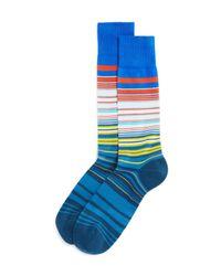 Paul Smith | Blue Higgle Stripe Socks for Men | Lyst