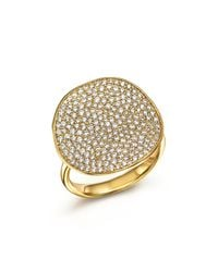 Ippolita | Metallic 18k Yellow Gold Glamazon® Stardust Flower Ring With Diamonds | Lyst