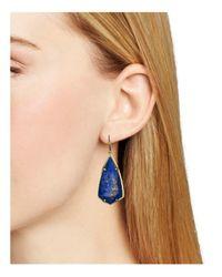 Kendra Scott | Blue Carla Earrings | Lyst