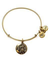 ALEX AND ANI | Metallic Virgo Expandable Wire Bangle | Lyst