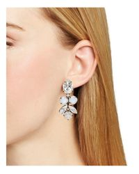 Sorrelli - Metallic Crystal Drop Earrings - Lyst