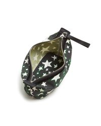 Marc Jacobs - Black Biker Flocked Stars Print Landscape Cosmetic Case - Lyst