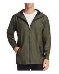 Rains   Green Breaker Hooded Jacket for Men   Lyst