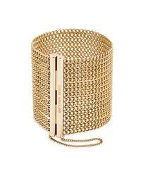 Michael Kors   Metallic Gold-tone Chain Bracelet   Lyst