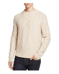 Original Penguin | Multicolor Fisherman Cable Knit Sweater for Men | Lyst