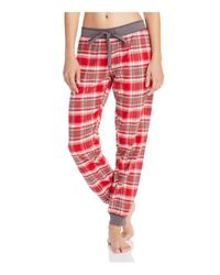 Pj Salvage | Red Mountains Calling Flannel Pants | Lyst