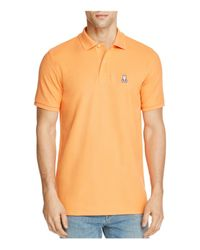 Psycho Bunny - Orange Classic Fit Polo for Men - Lyst