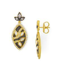 Freida Rothman - Metallic Leaf Earring - Lyst