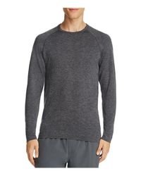 Rhone | Gray Forge Long Sleeve Athletic Tee for Men | Lyst
