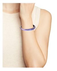 Alexis Bittar - Multicolor Tapered Bangle - Lyst
