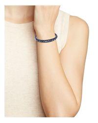 Chan Luu | Black Midnight Beaded Leather Bracelet | Lyst