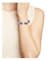Alexis Bittar - Multicolor Mosaic Lace Jeweled Cuff Bracelet - Lyst