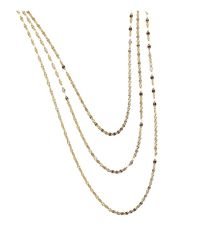 "Lana Jewelry | Metallic 14k Yellow Gold Mega Sienna Necklace, 16"" | Lyst"