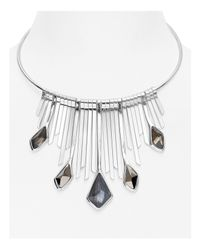 Robert Lee Morris | Metallic Statement Collar Necklace | Lyst