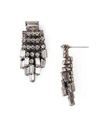 Aqua - Multicolor Indiana Fringe Stud Earrings - Lyst