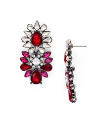 Aqua | Multicolor Iona Statement Stud Earrings | Lyst