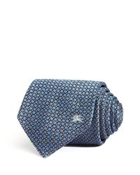 Burberry - Blue Geometric Neat Classic Tie for Men - Lyst
