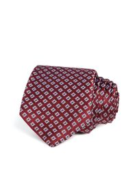 W.r.k. | Textured Square Classic Tie for Men | Lyst
