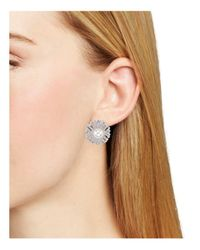 Nadri - Multicolor Nina Stud Earrings - Lyst