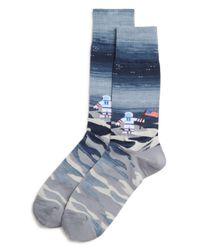 Bloomingdale's - Blue Astronaut Socks for Men - Lyst