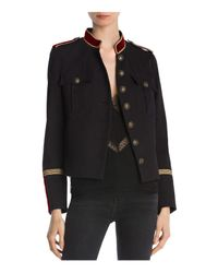 The Kooples - Black Cover Military-style Blazer - Lyst