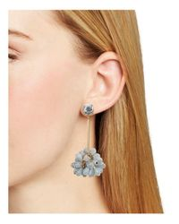 BaubleBar - Gray Noel Drop Earrings - Lyst