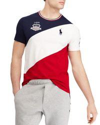 Polo Ralph Lauren - Multicolor Usa Custom Slim Fit Tee for Men - Lyst