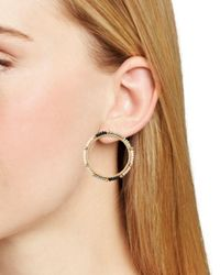 Rebecca Minkoff - Multicolor Beaded Loop Drop Earrings - Lyst