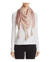 Johnny Was | Multicolor Sheer Medallion Scarf | Lyst