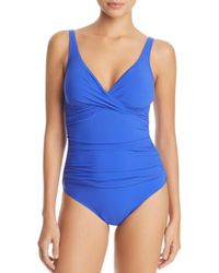 Gottex - Blue Tutti Frutti One Piece Swimsuit - Lyst