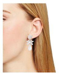Kate Spade - Metallic Drop Earrings - Lyst
