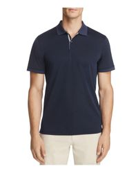 AG Green Label - Blue Berrian Short Sleeve Polo Shirt for Men - Lyst