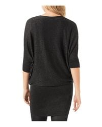 Phase Eight - Black Becca Shimmer Batwing Dress - Lyst